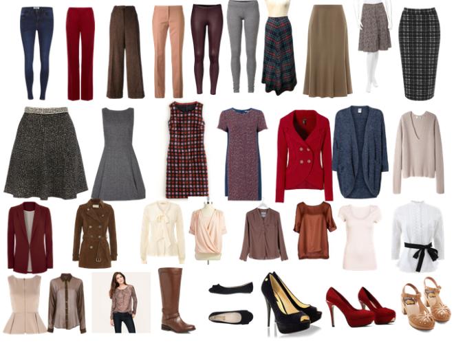 Fall Wardrobe Outline